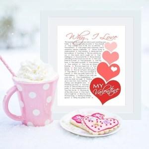Why I Love My Valentine