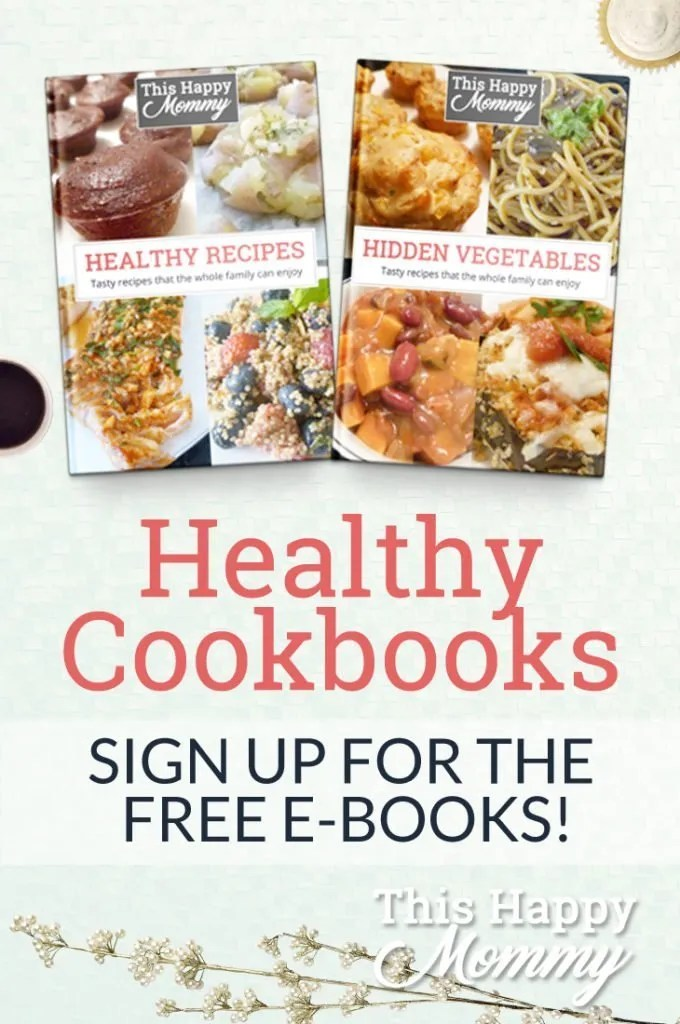 Healthy Cookbooks - Sign up for the FREE e-books!