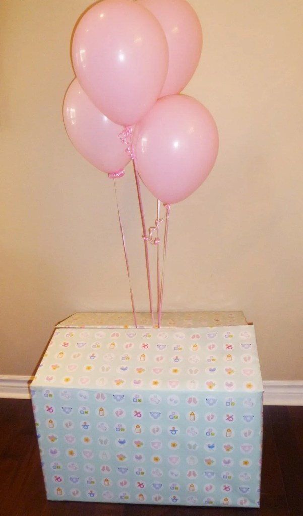 Surprise Box -- Whether it's a baby gender reveal, a birthday, or just because, a surprise box is always exciting. | thishappymommy.com