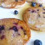 Yogurt Blueberry Pancakes