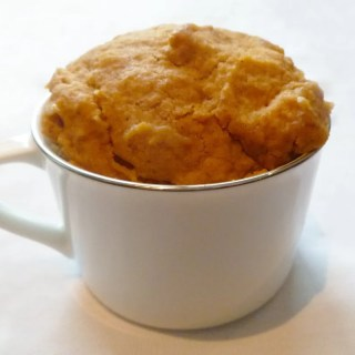 Pumpkin Spice Mug Cake