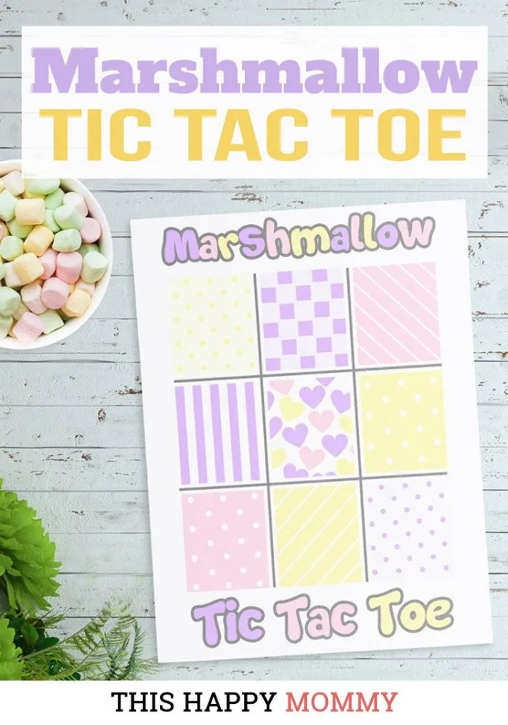 If you love family fun time, this is the perfect game for you! Marshmallow Tic Tac Toe is a fun and tasty version of Tic Tac Toe. You can download your own copy for FREE!DIY gifts   family game night   family time   DIY crafts   last minute gifts   gifts for kids   #gift #diy #game #familytime   thishappymommy.com