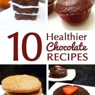 10 Healthier Chocolate Recipes