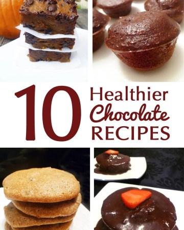 10 Healthier Chocolate Recipes