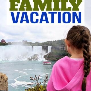 Family Vacation to Niagara Falls