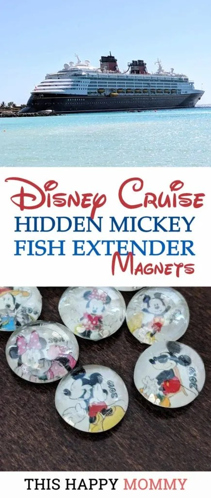 A holiday can be the perfect getaway from everyday life. To add a little magic, we exchanged gifts with other families. We made Disney Cruise Hidden Mickey Fish Extender Magnets. DIY Gifts | Disney Cruise Gifts | #diy #gifts #disneygifts #diydisney | thishappymommy.com
