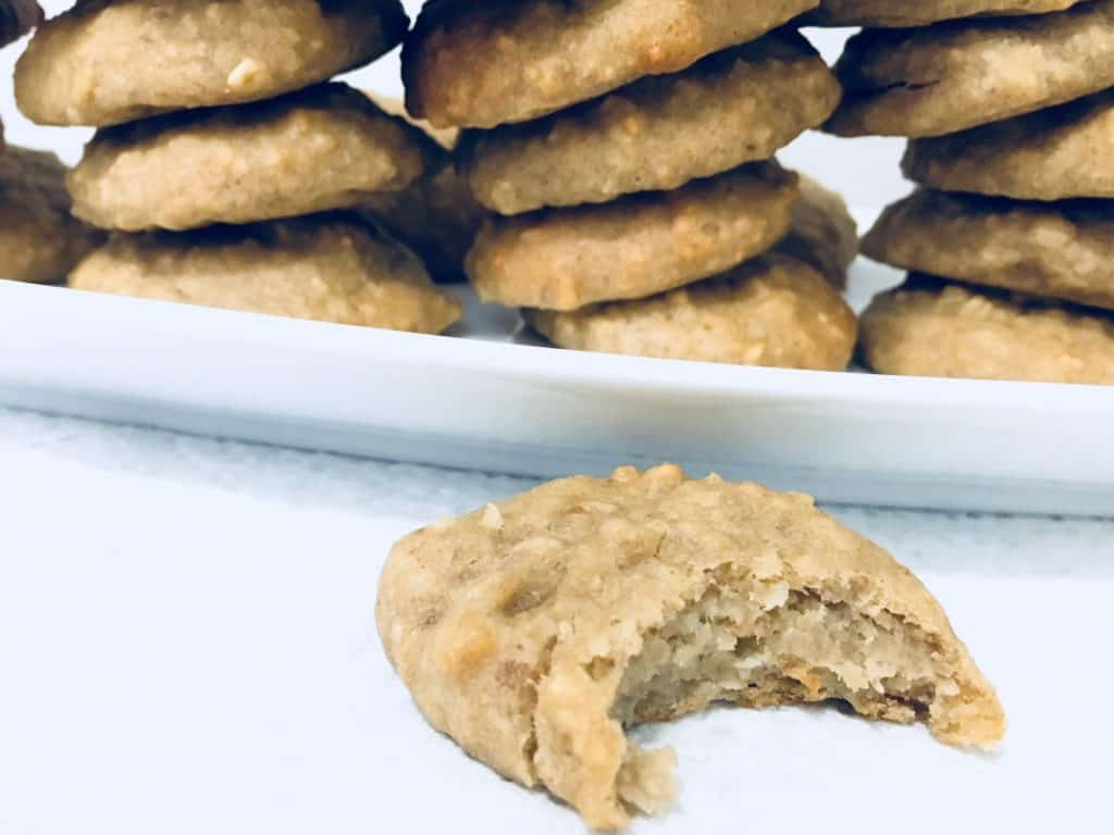 Easy Healthy Chickpea Cookies