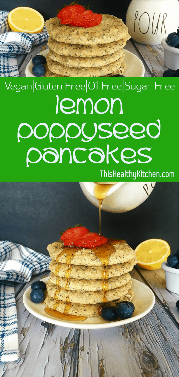 lemon poppyseed pancakes pin