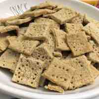 White Bean Protein Crackers [Oil Free Option]