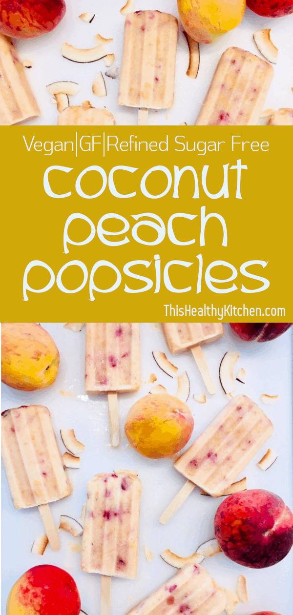 coconut peach popsicles pin