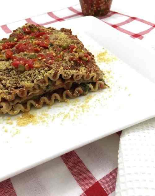 Vegan Lasagna slice