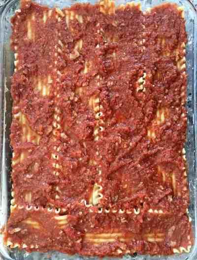 lasagna assembly