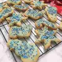 Dairy Free Shortbread Cookies