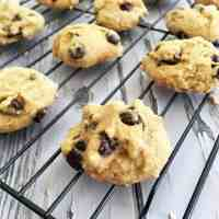 Vegan Chocolate Chip Cookies [GF+Nut Free+Oil Free]