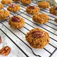 Vegan Oatmeal Pumpkin Cookies [GF+Oil Free]