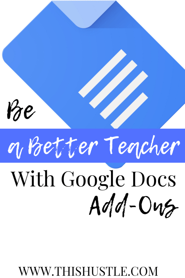 How To Be a Better Teacher With Google Docs Add-Ons - This