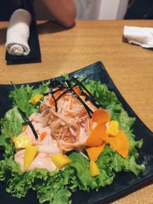 Nanbantei Kani Salad