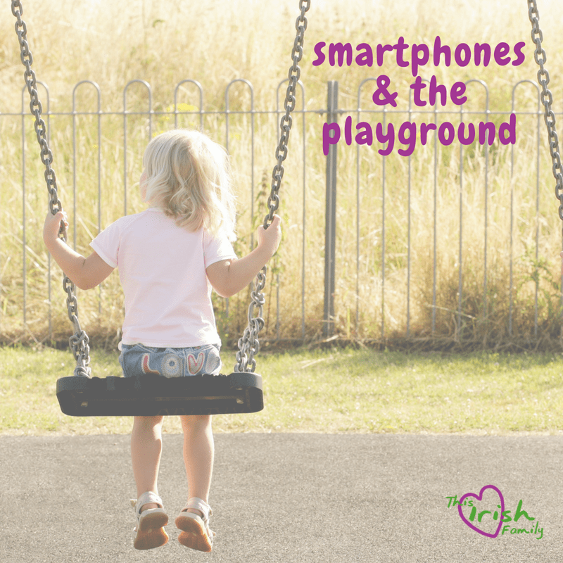 smartphones and the playgound