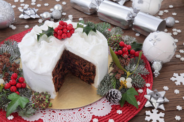 Christmas Cake Decorations.Christmas Cake Decorations With Sugar Craft Means Tested Benefits