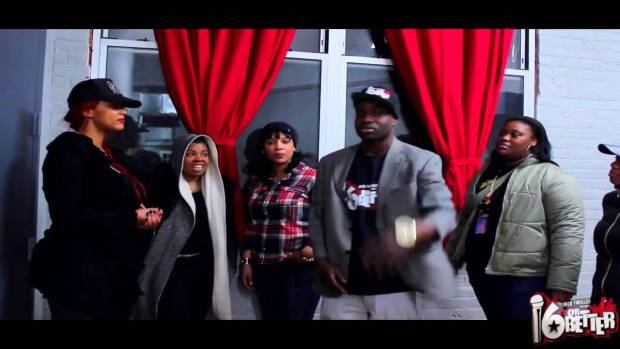 16orBetter – Female Cypher (Behind The Scenes)