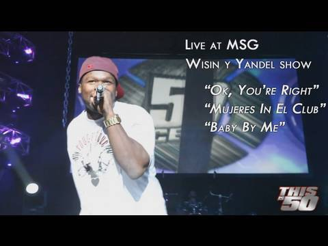 50 Cent  @Madison Square Garden with Wising Y Yandel | Live Performance | 50 Cent Music