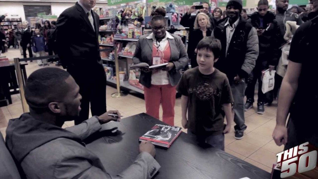 50 Cent @ NY/NJ/Queens 'Formula 50' Book Signings