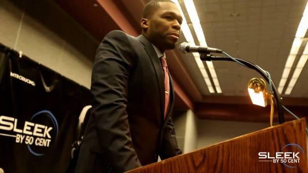 50 Cent Presents Sleek By 50 Cent Headphones with Sleek Audio @CES 2011 | 50 Cent Music