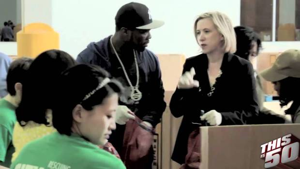 50 Cent & SMS Audio Team up With City Harvest & Feeding America | 50 Cent Music