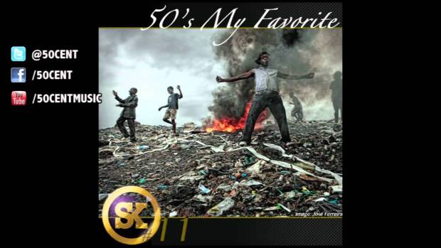 50's My Favorite by 50 Cent (Street King Energy Drink Track #11)   50 Cent Music