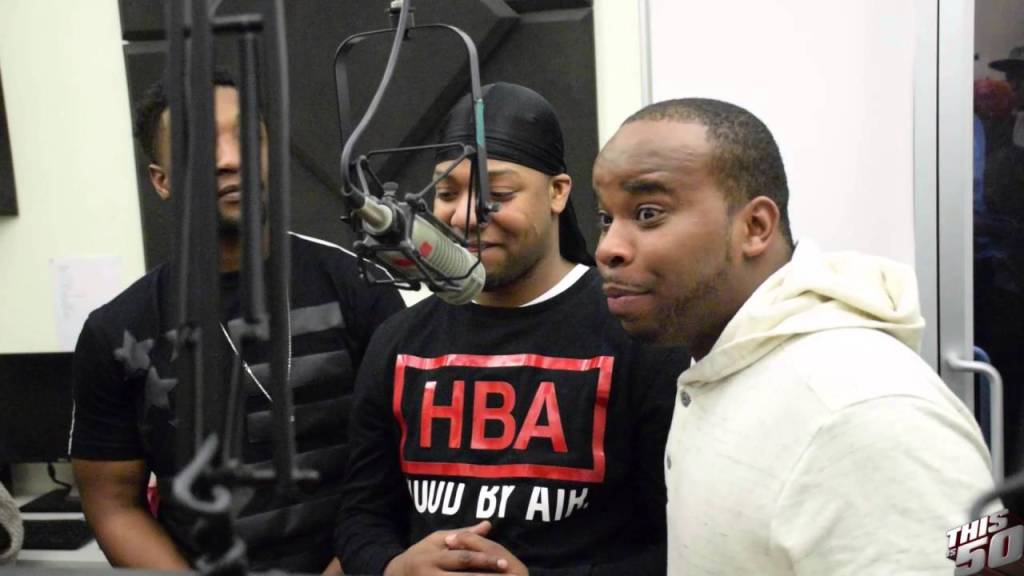 """821 on Hit Record 'Lobby' –  """"50 Cent Came To The Projects &  Knocked On My Door"""""""