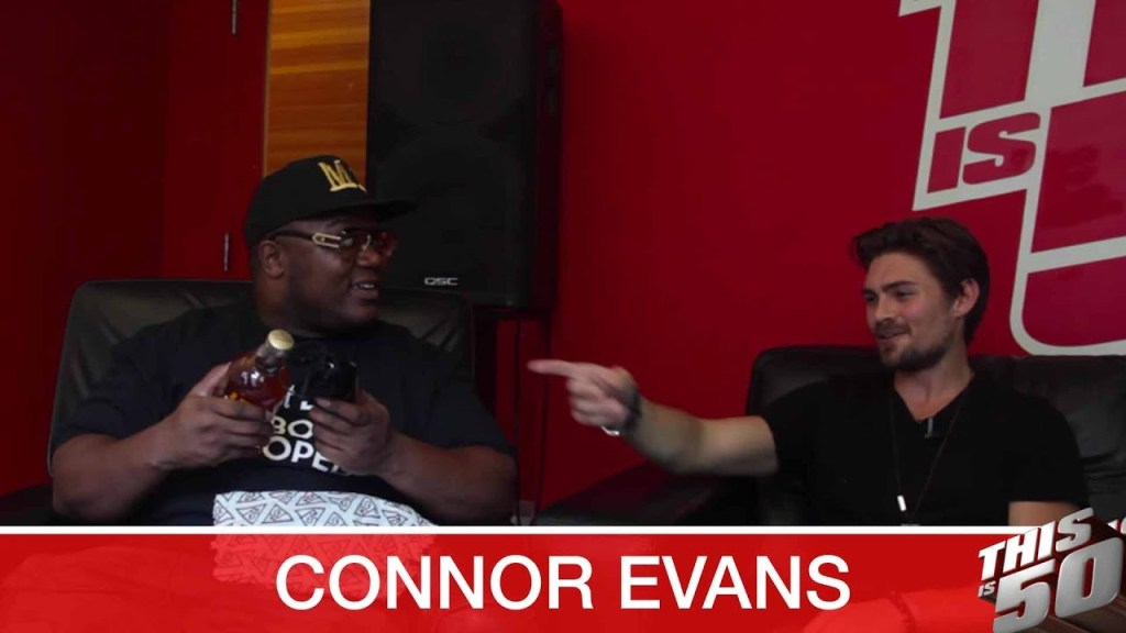 Connor Evans on Making Music; Kanye West Influence; Freestyle