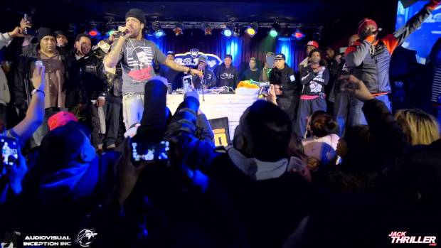 Def Squad's RedMan and Keith Murray @ BB King; Ralph McDaniels Birthday Celebration 2015