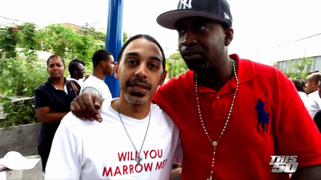 """EXCLUSIVE: Bone Marrow Drive at Curtis """"50 Cent"""" Jackson's Community Garden in Queens, NY"""