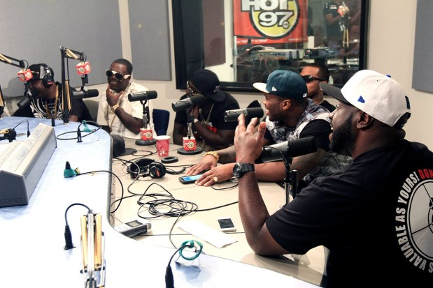 G-Unit – Funkmaster Flex Freestyle (09/04/2014)