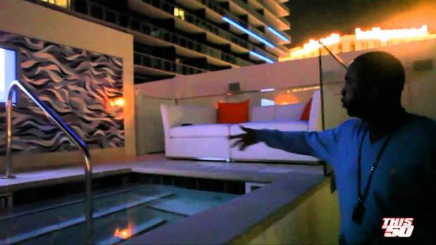 G-unit In Las Vegas Introduce Sleek By 50 w/ Floyd Mayweather, Governor, & Mann | 50 Cent Music