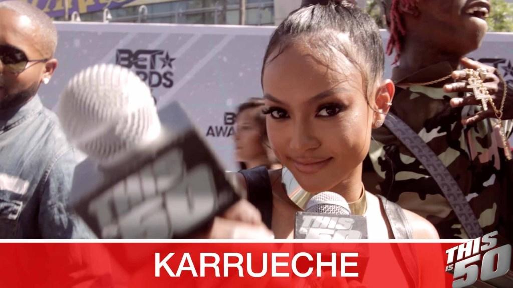 """Karrueche """"Kevin McCall Is Not My Bae"""" + Chris Brown"""