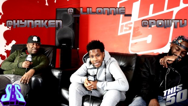 Lil Lonnie on Coming From Mississippi ; Working W/ Bryson Tiller & K Camp ; Convo With 50 Cent