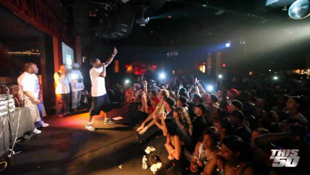 "Lloyd Banks @BB King, NYC – 5/26/10 + Tony Yayo ""Pass The Patron"" 