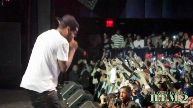 Lloyd Banks ft Fabolous x Pusha T x Swizz Beatz x Ryan Leslie – Start It Up (Live In NYC)