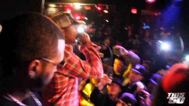 "Lloyd Banks + Juelz Santana Perform ""Beamer, Benz, Or Bentley"" Live in NYC"
