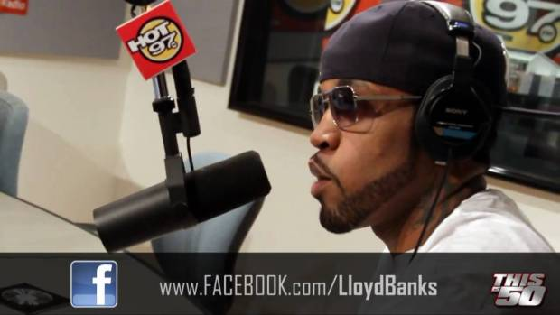 Lloyd Banks with FunkMaster Flex on Hot 97 – 4/14/2010 | Interview | 50 Cent Music