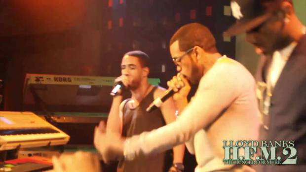 Lloyd Banks x Fabolous x Ryan Leslie – Start It Up Live @ SOB, NYC