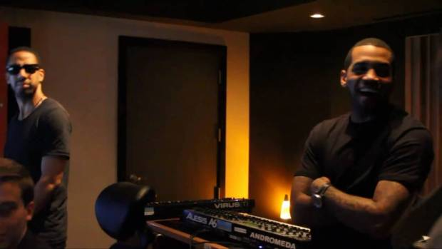 Lloyd Banks x Ryan Leslie – The Making Of So Forgetful – On The Road To HFM2 | BTS | 50 Cent Music
