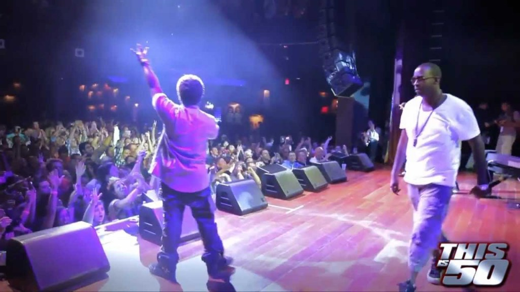 """Mann x 50 Cent Perform """"Buzzin"""" At The House Of Blues In Atlantic City"""