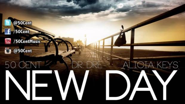New Day by 50 Cent ft Dr Dre & Alicia Keys (Dirty – Audio) | 50 Cent Music
