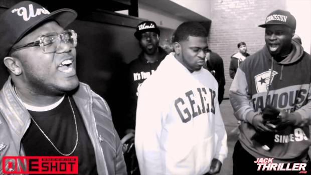 One Shot Rap Battle Pt.1 | Atlanta Ga. $100K Cash What Would You Do With It?