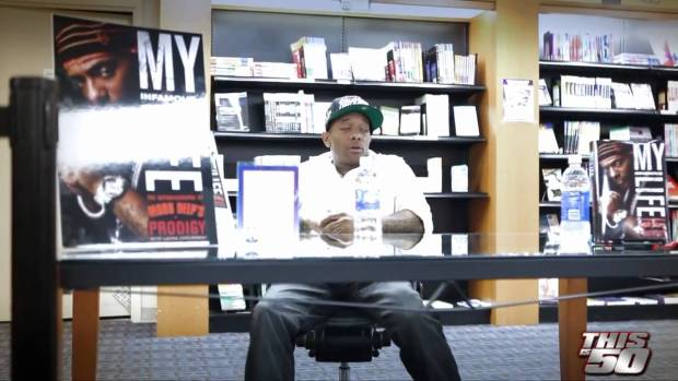 "Prodigy In DC For ""Howard University"" And ""Barnes & Noble"" Book Signing For ""My Infamous Life"""