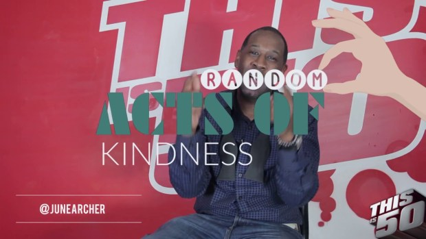 The Winner's Circle: Random Acts of Kindness Can Change The World