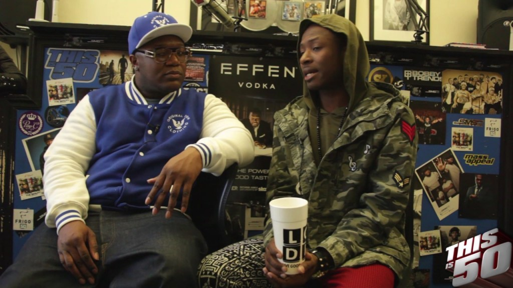 T'Juan on Being A Single Parent; New Mixtape w/ DJ Whoo Kid; Sings  an Acappella
