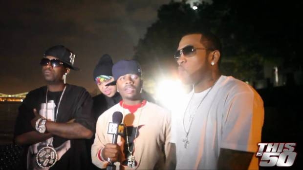 Tony Yayo with Ron Browz and Lloyd Banks – Thisis50 Festival | Interview | 50 Cent